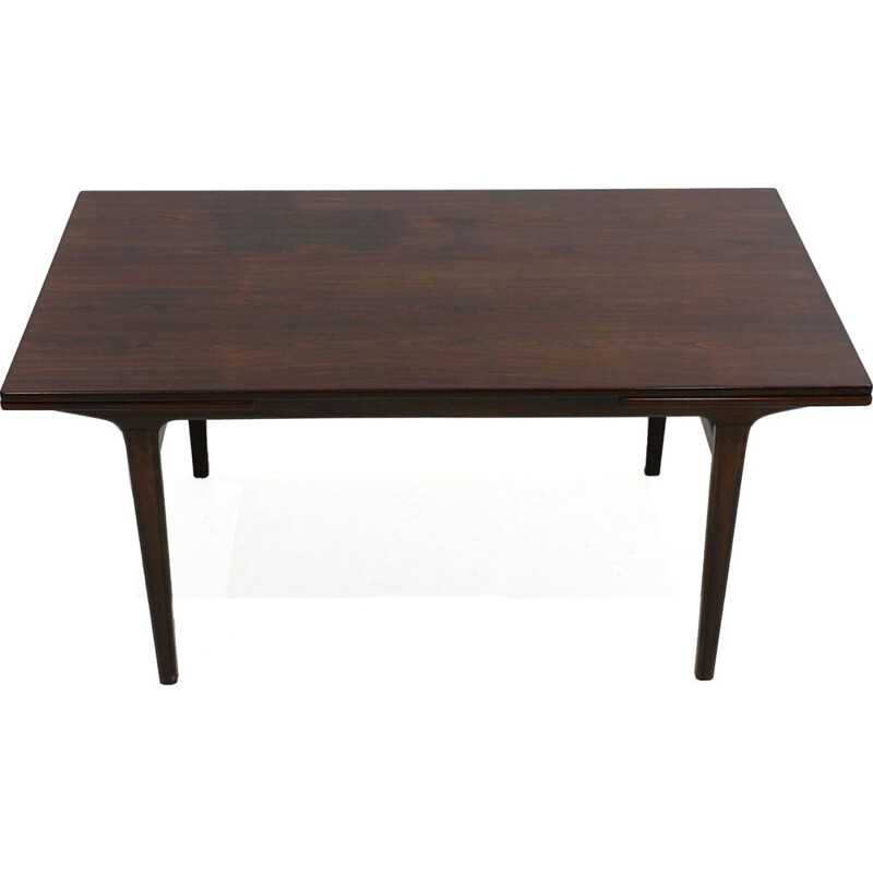 Vintage rosewood dining table 1960s