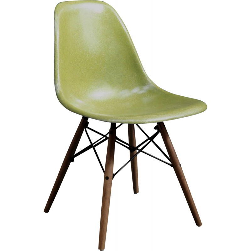 Herman Miller Dsw Lime Green Chair Charles Ray Eames 1970s
