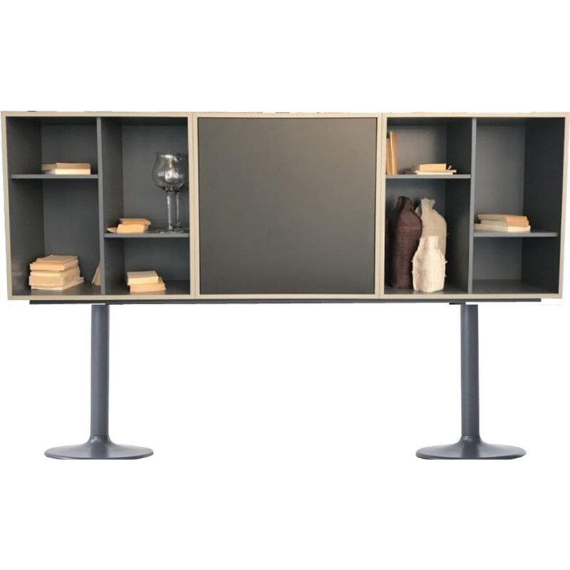 """LC20 - CASIER STANDARD"" bookcase, A7 or B7, Le Corbusier for CASSINA"
