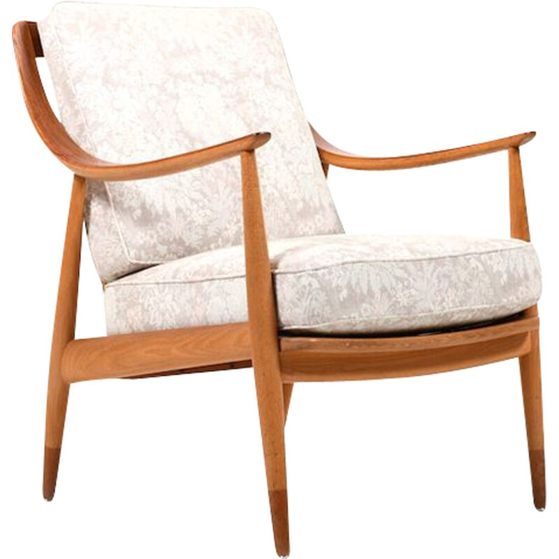 VintageOrla Mølgaard-Nielsen and Peter Hvidt Easy chair by France & Daverkosen