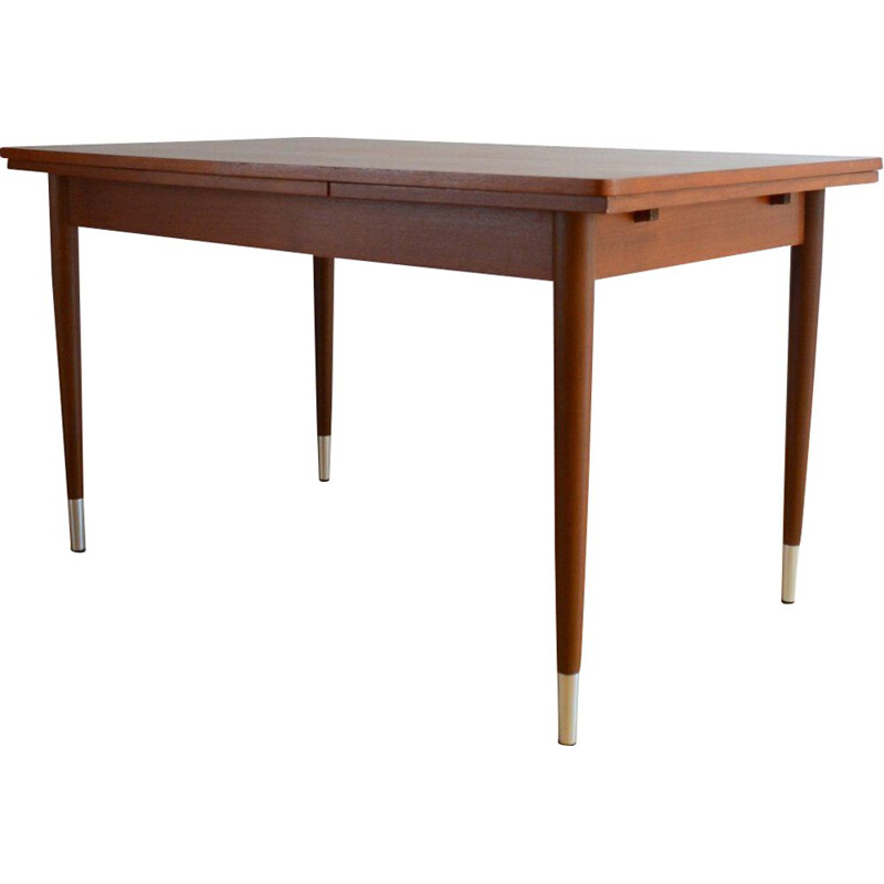 Vintage scandinavian teak table 1960
