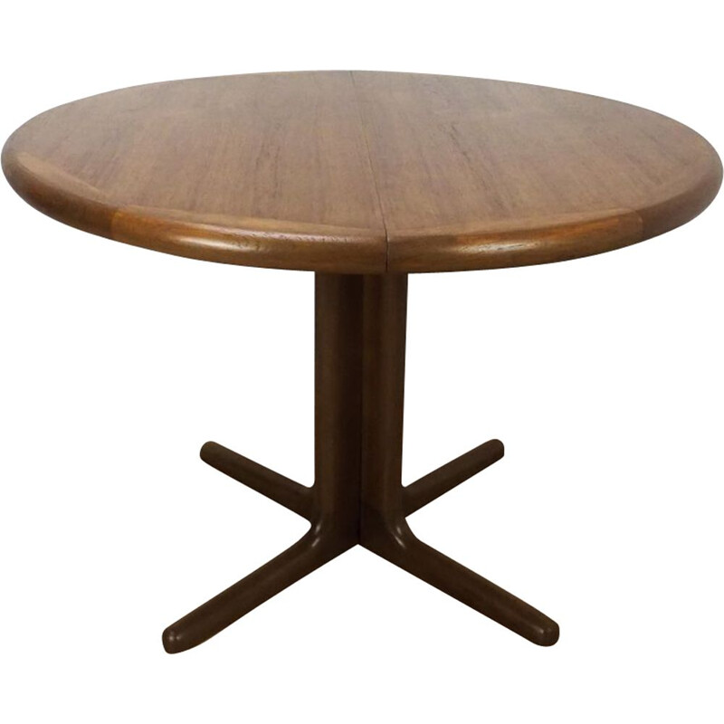 Vintage danish extendable table in teakwood 1960