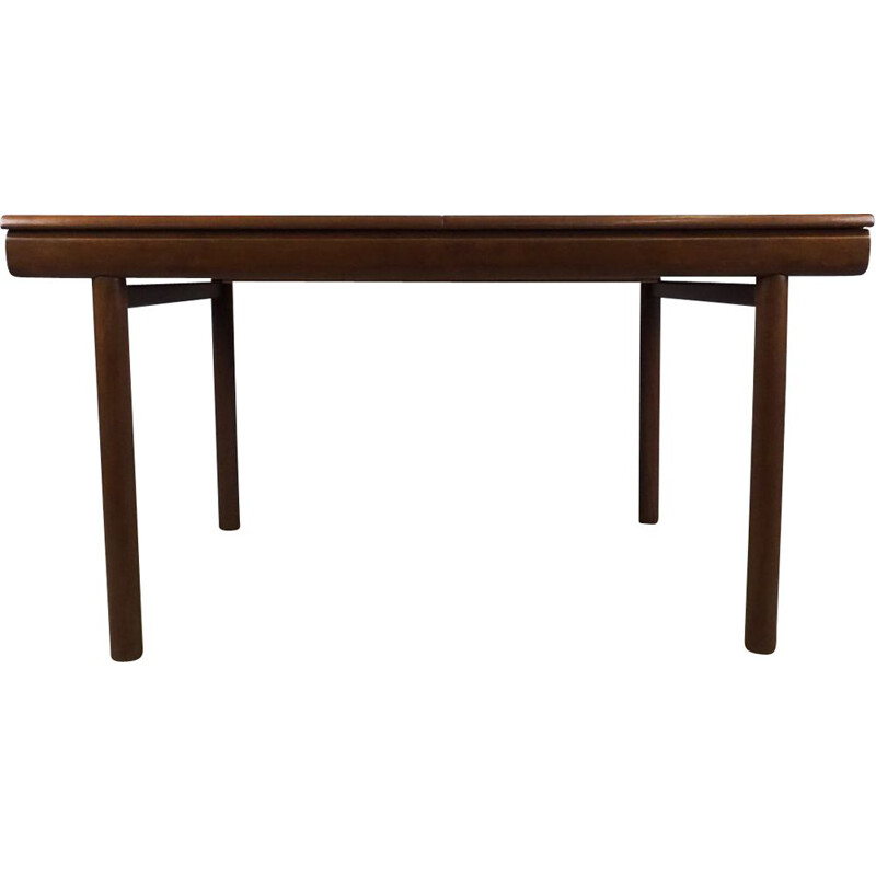 Vintage extendable british dining table in teakwood 1960s