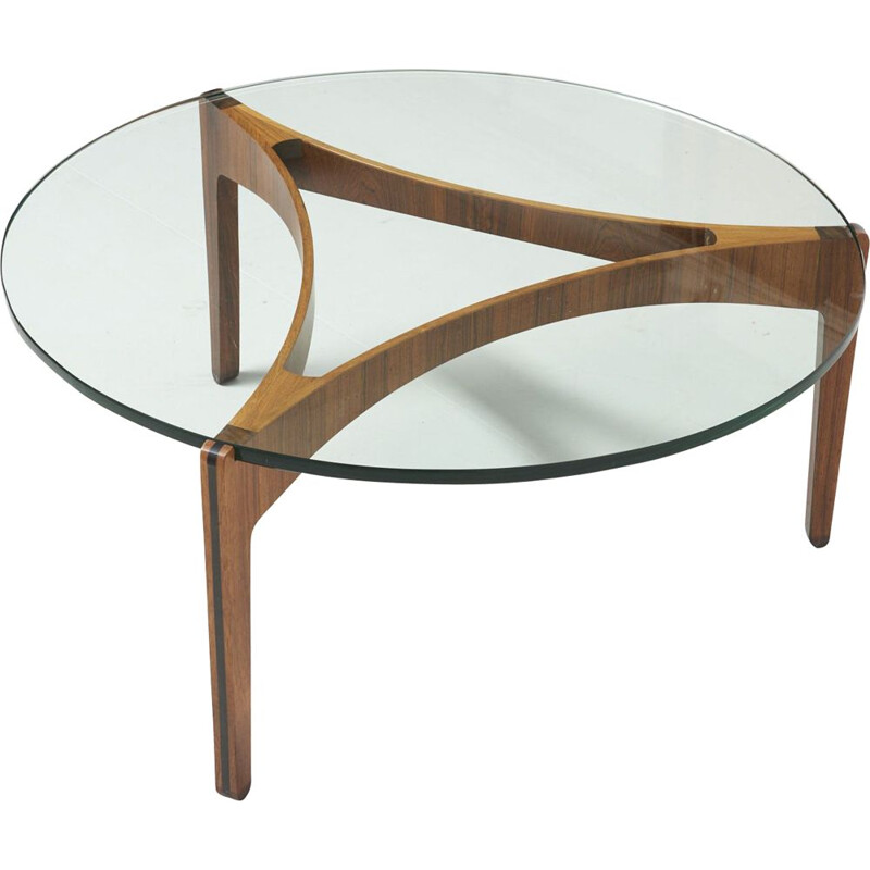 Vintage coffee table by Sven Ellekaer pour Christian Linneber,1960