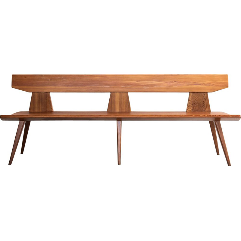 Vintage bench by Jacob Kielland Brandt for L. Christiansen,1960