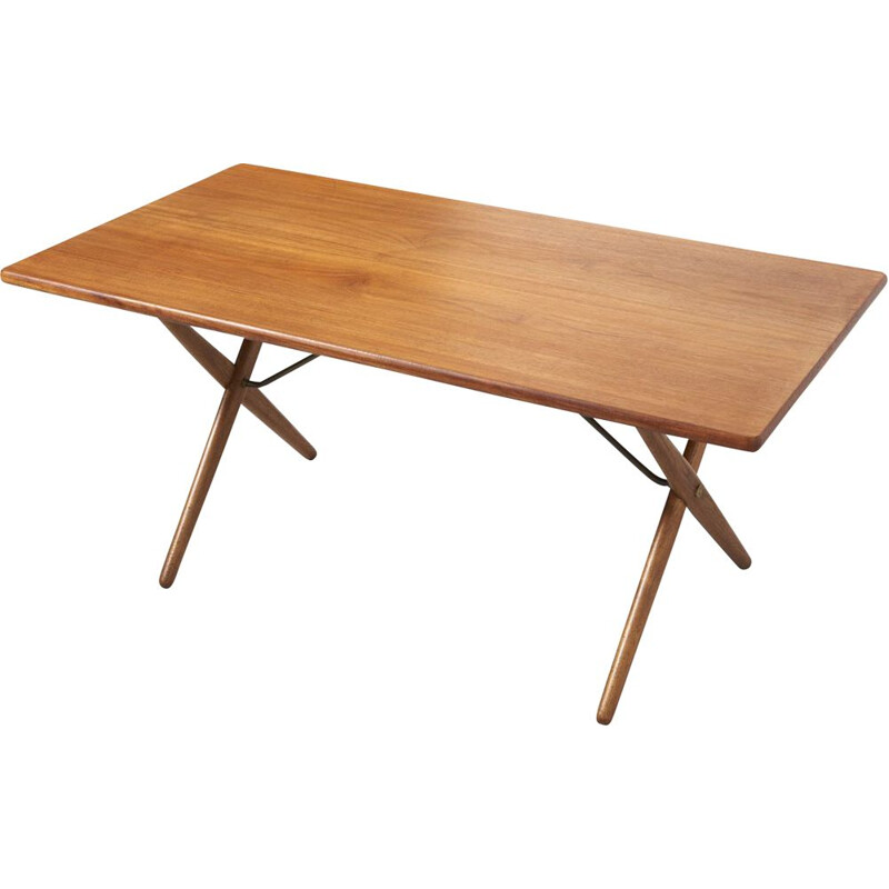 Vintage AT 303 table by HANS J. WEGNER