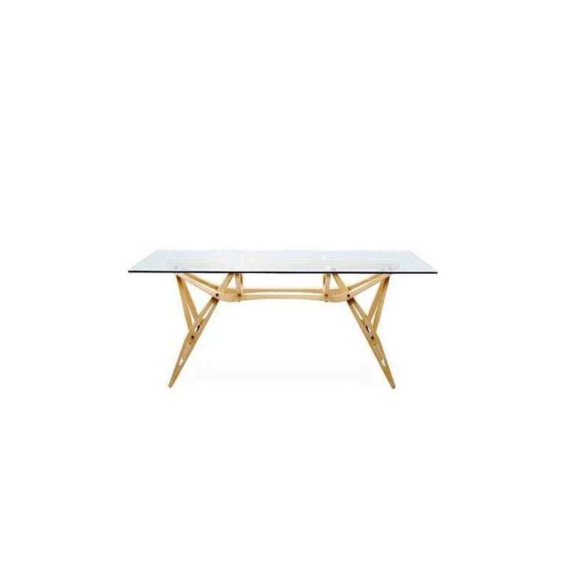 """Reale"" dining table by Carlo Mollino for ZANOTTA"