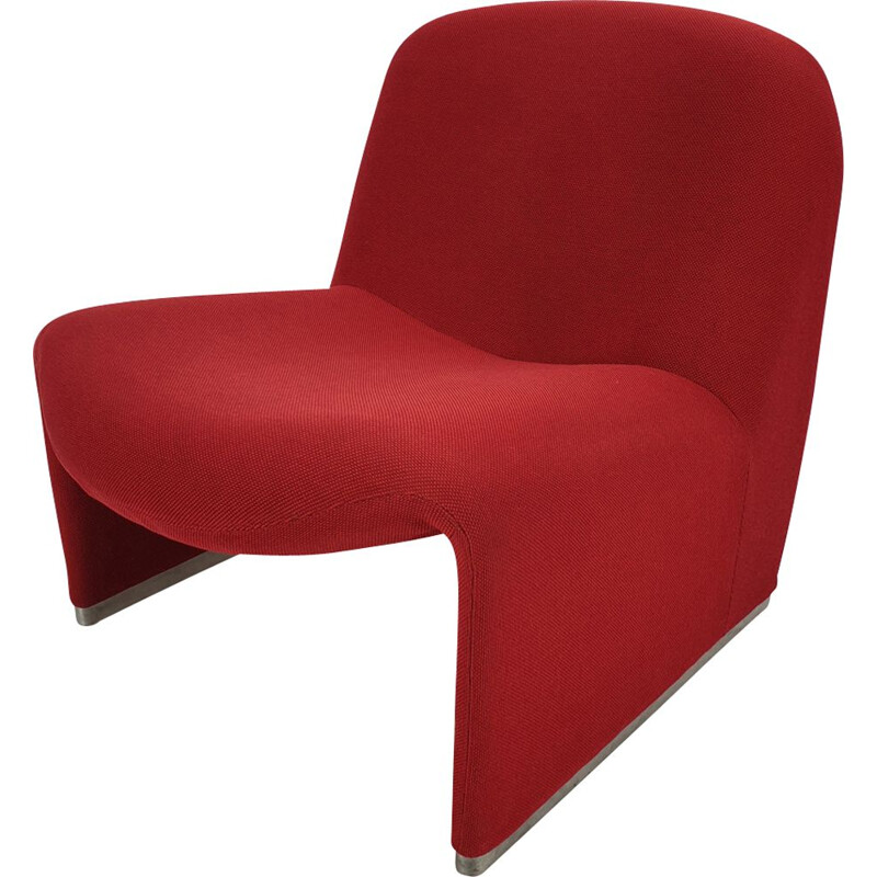 Vintage armchair Alky by Giancarlo Piretti for Artifort, 1970s