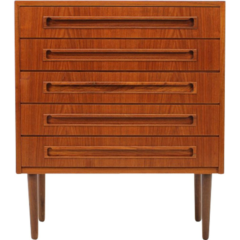Vintage Chest of Drawers in teak Danish 1960