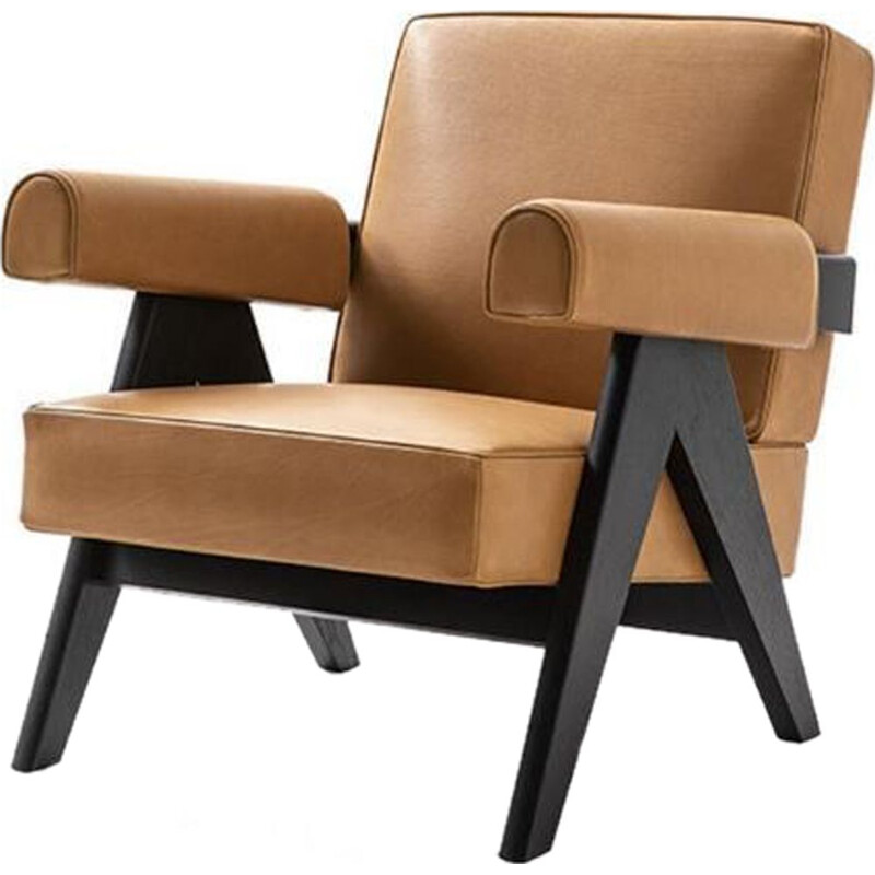 """053 CAPITOL COMPLEX"" armchair, Pierre Jeanneret for CASSINA"
