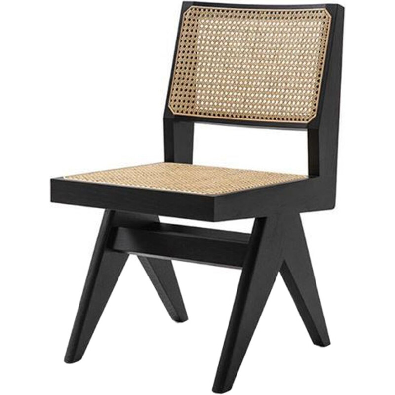 """055 CAPITOL COMPLEX"" chair, Pierre Jeanneret for CASSINA"