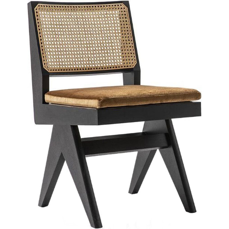 "Cushion for ""055 CAPITOL COMPLEX"" chair, Pierre Jeanneret for CASSINA"