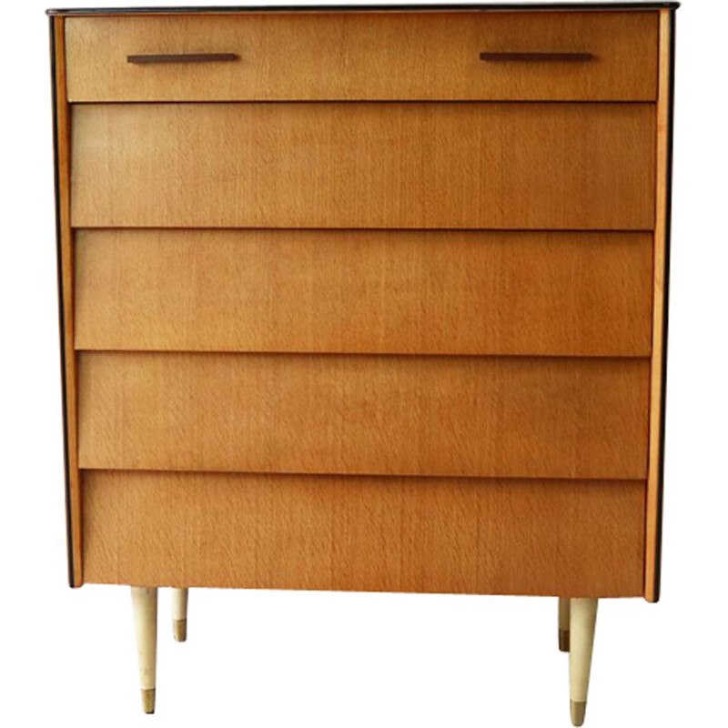 Vintage Belgian chest of drawers from the 60s