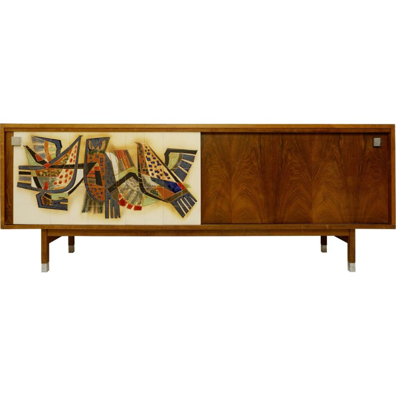"Vintage ""Alfred Hendrickx"" sideboard by Sinclerc,1960"