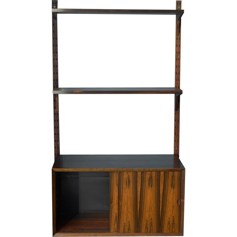 Vintage rosewood wall shelf by Poul Cadovius