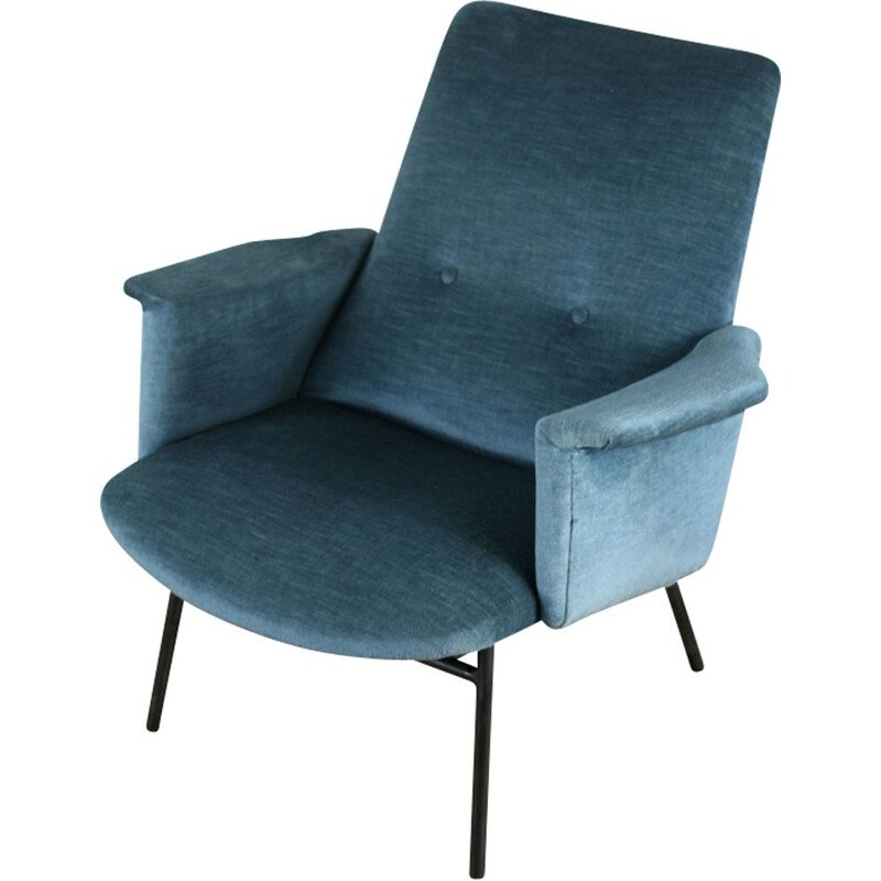 vintage armchair model SK 660 by Pierre Guariche Steiner Edition 1950