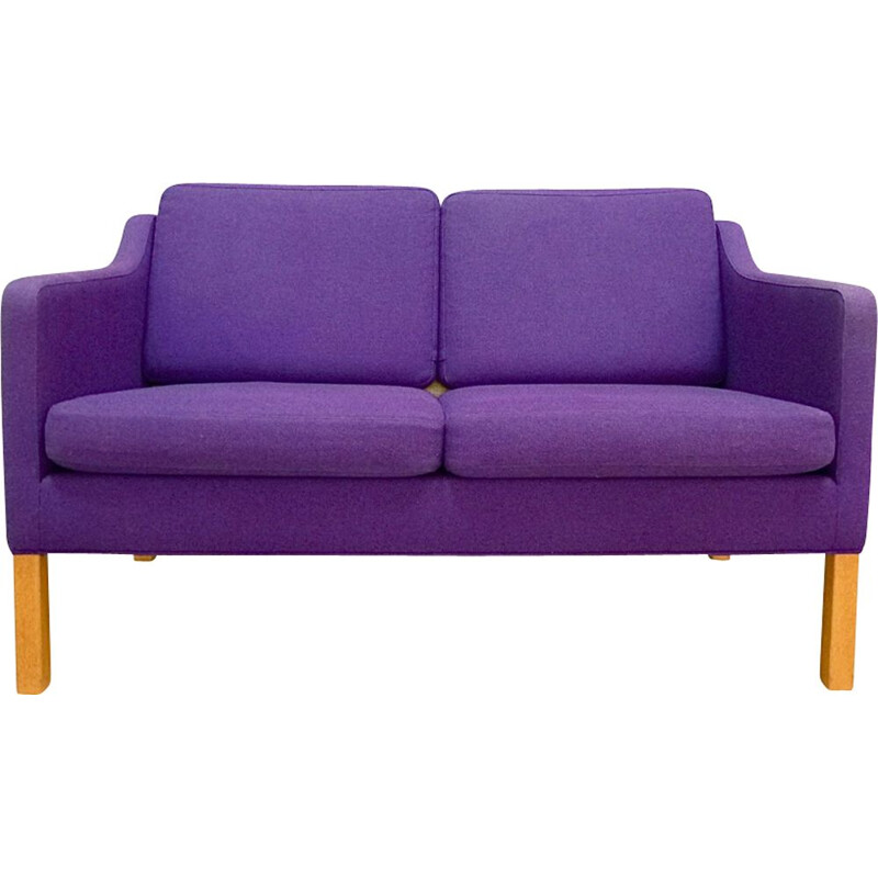 Vintage Danish 2-seater sofa M 2522 by Børge Mogensen for Fredericia