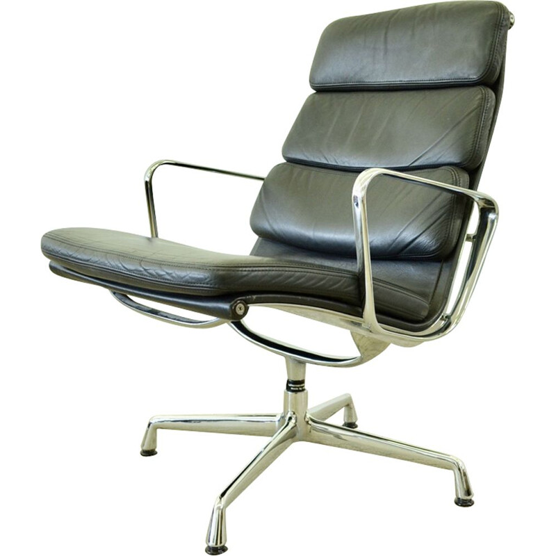 Vintage lounge chair EA216 by Charles & Ray Eames Herman Miller for Vitra