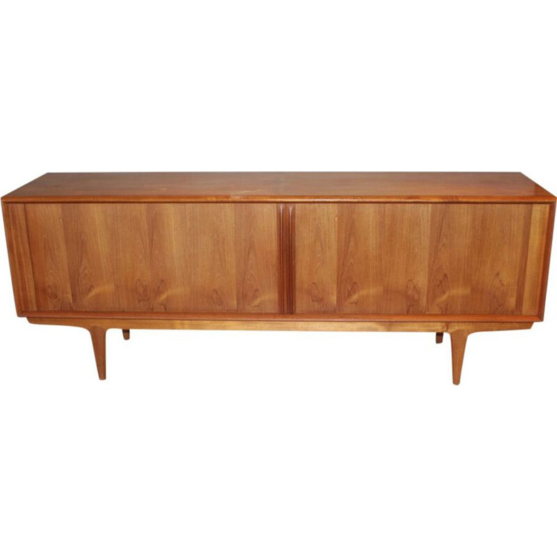 Vintage scandinavian sideboard for Pedersen & son in teak 1960