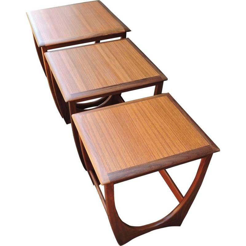 Vintage Teak Nesting Tables from G-Plan 1960s