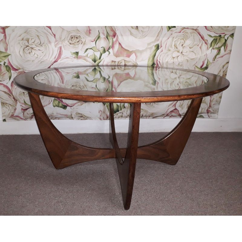 Astro Coffee Table.Vintage Coffee Table Astro Round By G Plan 1960s