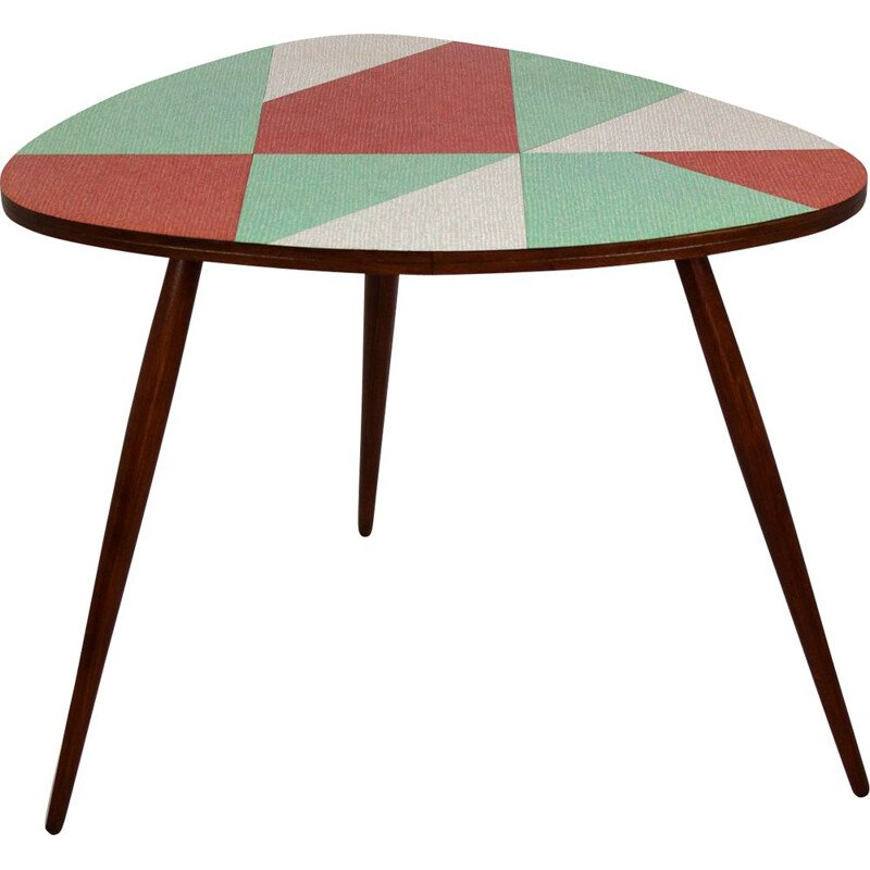 Vintage Czechoslovak coffee table, 1963