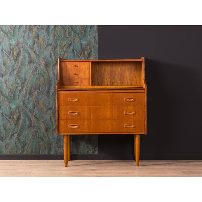 Phenomenal Vintage Secretary Desk In Teakwood 1960 Home Interior And Landscaping Mentranervesignezvosmurscom