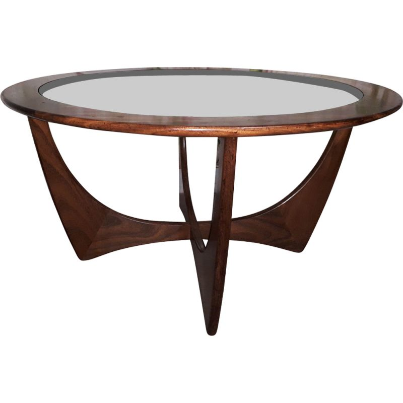 Vintage coffee table Astro round by G Plan 1960s