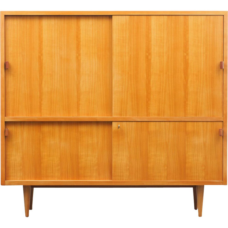 Vintage highboard for WK in cherrywood 1950