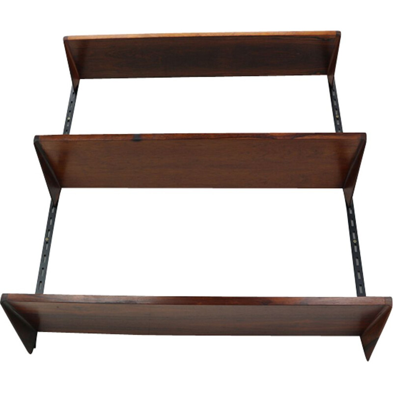 Vintage danish wall unit for Feldballes in teakwood 1960