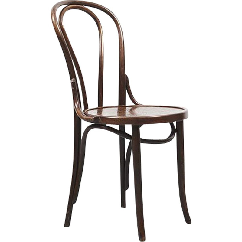 Vintage n 18 chair for Thonet in wood 1930