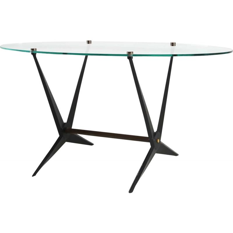 Vintage coffee table by Angelo Ostuni Italy 1950s