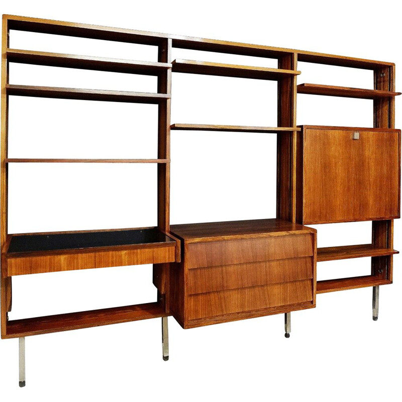 Vintage bookcase by Alfred Hendrickx for Belform, 1960s
