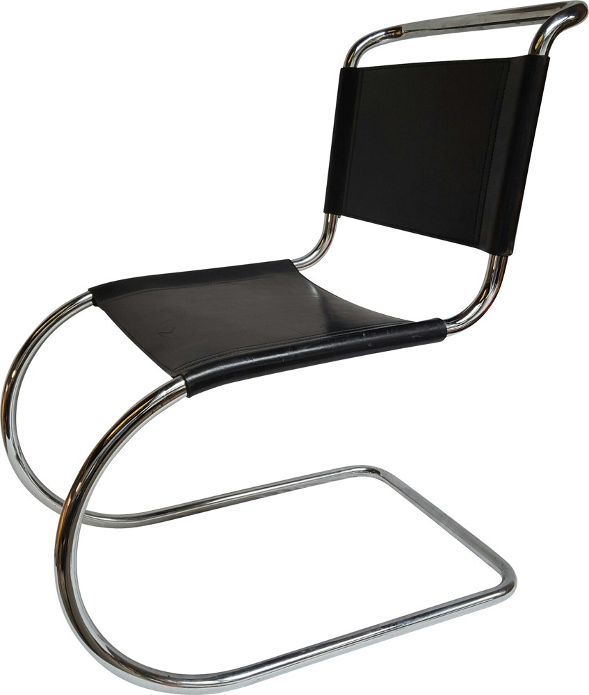 Etonnant Chair In Chrome And Leather, Ludwig MIES VAN DER ROHE   1950s   Design  Market