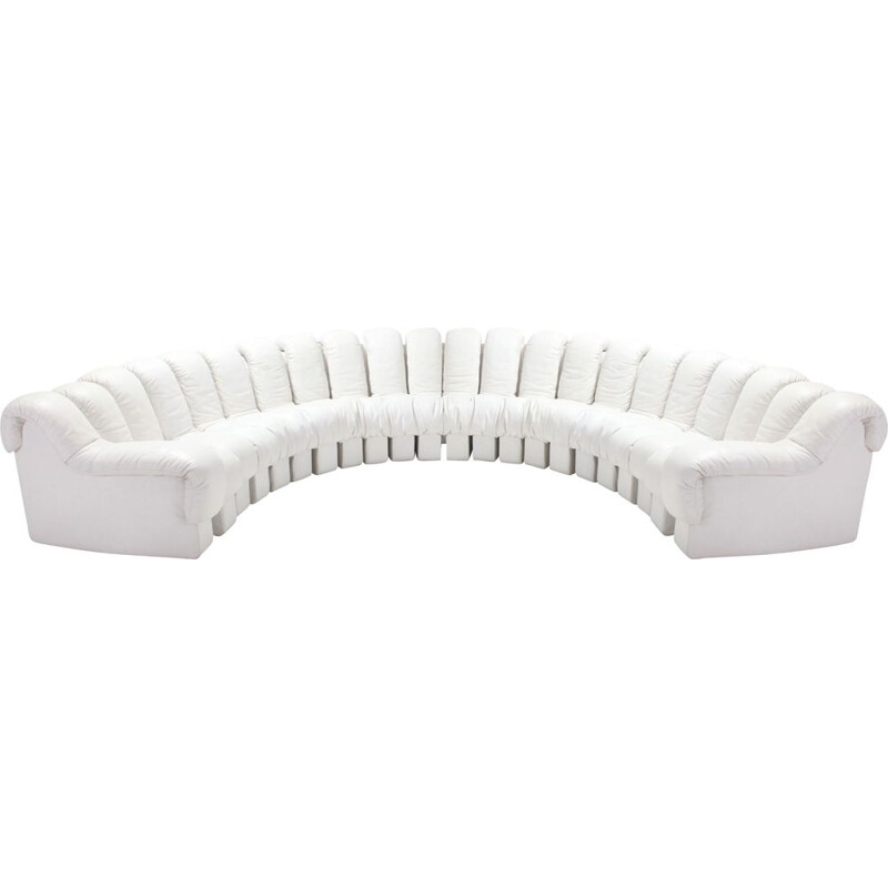 Vintage non stop Snake sectional sofa DS-600 by De Sede