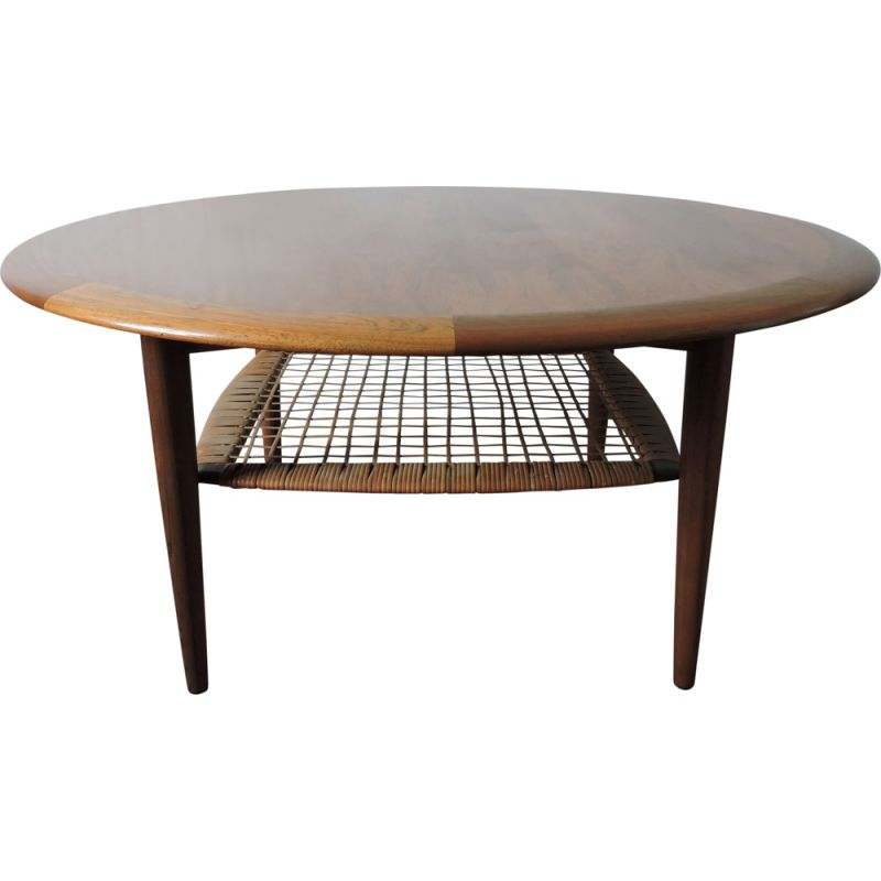 Vintage coffee table by Johannes Andersen for CFC Silkeborg,1960