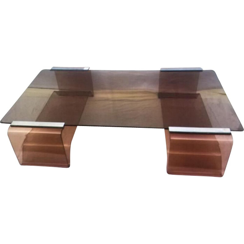 Vintage coffee table by Michel Dumas,1972