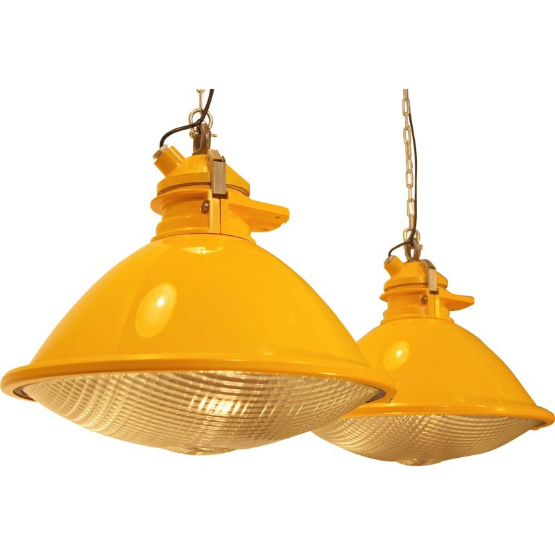 Vintage set of 2 pendant lights by Phillips for Schiphol airport,1970