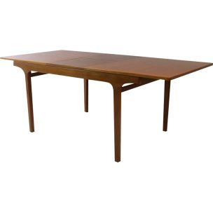Vintage extenisble dining table by Nathan,1970