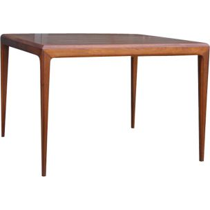 Vintage coffee table for CFC Silkeborg in rosewood 1960
