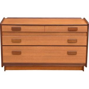 Vintage chest of drawers by White and Newton in teak 1960
