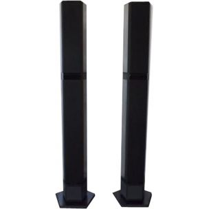 Pair of vintage speakers column bang and olufsen beolab type 6631, 1988