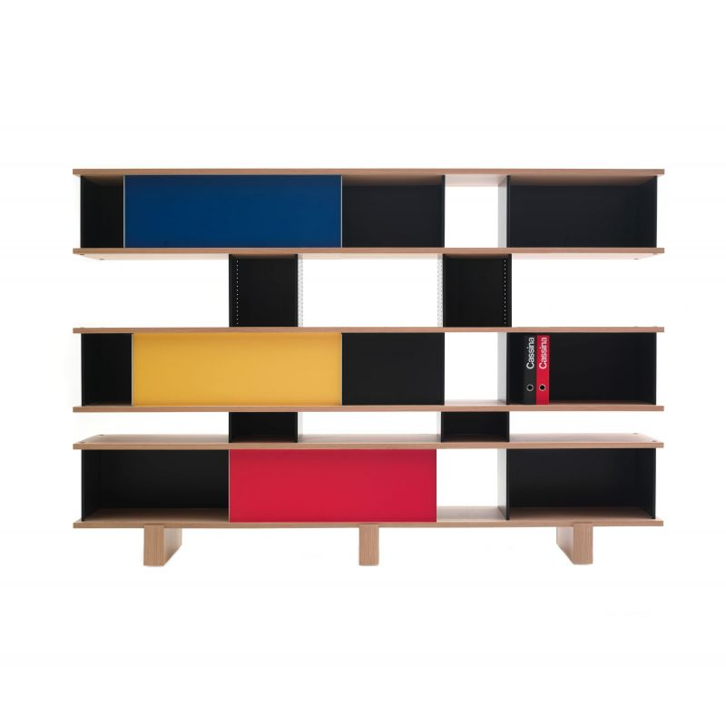"526 NUAGE - ON FOOT MX TYPE"" bookcase, Charlotte Perriand for ..."