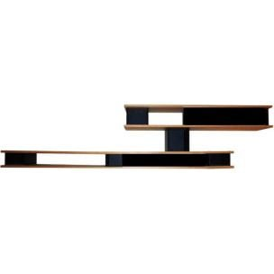 """526 NUAGE -  WALL UNIT ST TYPE"" shelf, Charlotte Perriand for CASSINA"