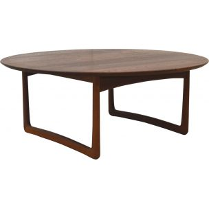 Vintage Coffee Table in Teak by Peter Hvidt & Orla Molgaard Nielsen for France & Daverkosen Denmark