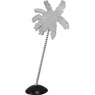Vintage Palm Tree lamp for Fiorucci in metal 1980