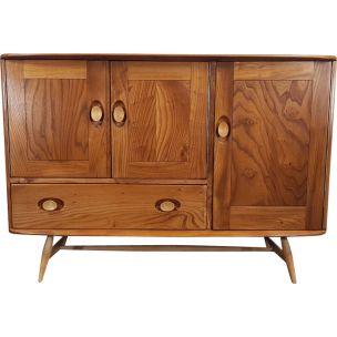 Vintage Sku 207 sideboard for Ercol in elm and beech 1960