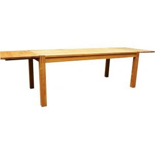 Vintage ash dining table 1970