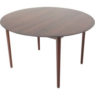 Vintage 311 table for Søborg in wood 1950s