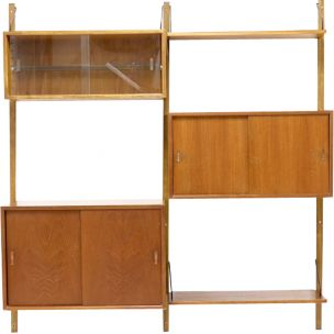 Vintage Royal System wall unit for Cado in teakwood 1960s